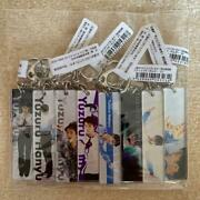 Yuzuru Hany Exhibition Stick Key Chain All 8 Pieces Set Official Goods Ice Skate