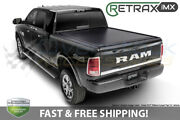 Retraxpro Mx Tonneau Cover For 07-2021 Tundra 5.6ft Bed Crewmax W/ Rail System