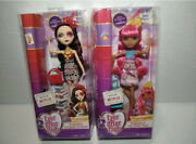 Ever After High Set Of 2 Dolls Book Party Ginger Breadhouse Lizzie Hearts