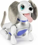 Zoomer Playful Pup Responsive Robotic Dog With Voice Recognition And Realistic ...