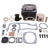 Big-bore Cylinder-piston Carb Chainsaw-parts Kit For Husqvarna 372 365 371 362