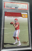 2017 Certified Cuts Patrick Mahomes Rc Great Expectations Psa 10 Gem Pop 70 Rc