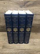 Interlinear Hebrew English Bible Complete 4 Volumes 1985 Jay Green Excellent Set