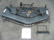 No Shipping Huskee Lawn Tractor 50 Mower Deck 683-0196 Used Sold As Is