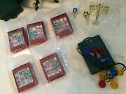 Barbie Convention Christmas Tree New Metal Accessories Lights Ornaments Ect.