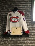 2011 Montreal Canadiens Max Pacioretty Heritage Classic Game Worn