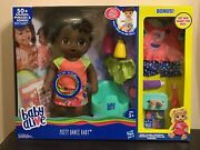 Baby Alive Potty Dance Doll Bonus African American Clothes New Fast Ship
