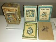 Rare Vintage Collectible Book Set - Nutshell Library By Maurice Sedak - 4 Books