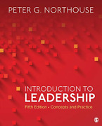 Northouse Peter G-intro To Leadership 5/e Book New