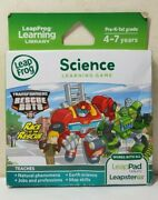 Leapfrog Leappad 2,3 Xdi Ultra Leapster Gs Science Transformers Rescue Bots Game