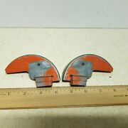 Toy Ertl J.i.case 930 Or 1030 Rear Tractor Fenders Used For Parts. 5