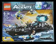 Lego 70173 Ultra Agents Ocean Hq Retired New In Unopened Sealed Box