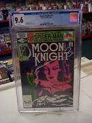 Moon Knight 14 Marvel Comics, 1981 Cgc Graded 9.6 White Pages