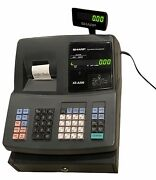 Sharp Xe-a206 Electronic Cash Register W/cash Drawer And Op Key Tested No Box