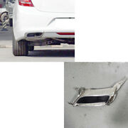 1 Xfor Buick Lacrosse 2016-2018 Rear Bumper Left Side Stainless Tail Throat Trim