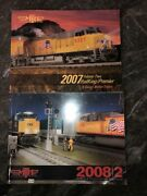 2007 08 Mth Electric Trains Large Soft Cover Book - 0 Gauge Model Trains