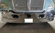 New Kenworth T680 17 Chrome Bumper Collision Avoidance System Cut Out