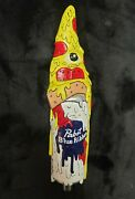Pabst Beer Tap Handle Pizza Artist Series Brand New Collector Pbr Hand Paint