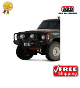 Arb 4x4 Accessories Front Deluxe Bull Bar For Toyota Land Cruiser 80-89- 3410100