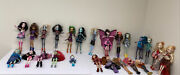 Monster High And Ever After High Doll Lot Of 24 Dolls/ Some Rare / Sold As-is