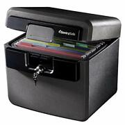 Sentrysafe Hd4100 Fireproof Safe And Waterproof Safe With Key Lock 0.65 Cubic...