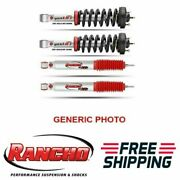 Rancho Quicklift Front Struts Set And Rs9000xl Rear Shocks For 05-15 Tacoma