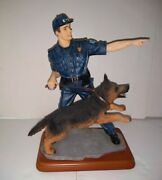 Bluehats Of Bravery Hot On The Trail Figurine 2000 Vtg