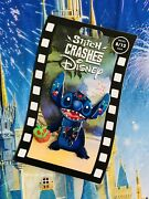 2021 Disney Parks Stitch Crashes Disney Snow White Pin Limited Release In Hand