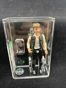 1977 Kenner Star Wars Han Solo Large Head Loose Action Figure Afa 75