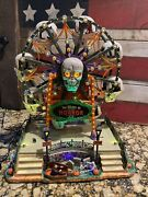 The Wheel Of Horror Ferris Wheel Spooky Town Collection Lemax In Box- Works