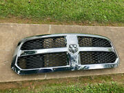 After-market Chrome Grill Assembly For 13-19 Dodge Ram 1500 Pick Up Truck