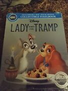 Lady And The Tramp Blu-ray/dvd, Steelbook Only Best Buy Brand New