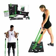 Bodyboss Home Gym 2.0 By 1loop - Portable Gym Workout Package + Extra Set Of Res