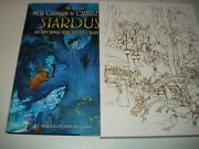 Signed Neil Gaiman And Charles Vess Stardust Ultra Limited 1/20 Remarqued Preorder
