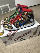 Size 10 - Nike Sb Dunk High X Concepts Ugly Christmas Sweater 2017 Special Box