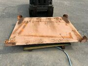 Scott Handling Industrial Material Lift Table 77x57 Table Top