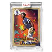 Topps Project 70 Card 552 - Bo Jackson By Risk -presale-