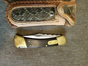 Buck Knife 110 With Special Sheath..