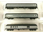 Micro Trains N Scale New York Central Three Passenger Car Lot