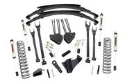 8 Rough Country 4-link V2 Lift Kit 59070 For 05-07 F250 F350 Super Duty Diesel