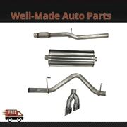 Corsa Cat-back Exhaust System With Dual Side Exit For Chevy/gmc 304 Ss 21030