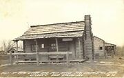 Rppc Abe Lincoln Post Office Worked At New Salem Ill. Hill - Mcneil Store Pc1b