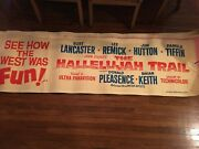 6 - Original Extra Large Movie Posters - 1960and039s Rare
