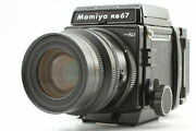 [n Mint] Mamiya Rb67 Pro Sd K/l Kl 90mm F3.5 L Lens + 120 Film Back From Japan