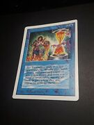 Rare Authentic Solid 7+ 1993 Unlimited Timetwister Power 9 Vtg 3rd Magic Mtg