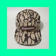 Supreme 1990and039s Vintage Trebark Camo Camp Cap Early Paper Tag Model