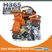 Farmertec Complete Repair Kit Compatible With Husqvarna 365 362 371 372 Chainsaw