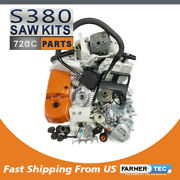 Farmertec Complete Repair Kit Compatible With Stihl Ms380 038 Ms381 Chainsaw
