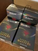 Magic The Gathering Vip Double Masters 4 Sealed Packs Inner Case