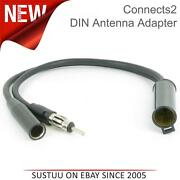 C2 Car Radio Stereo Din Aerial Antenna Adapter Lead│for Nissan Laurel/maxima/qx